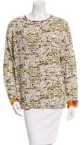Peter Som Printed Long Sleeve Top
