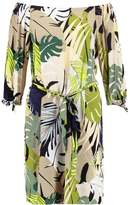 Wallis PALM Summer dress khaki