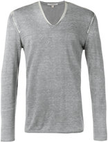 John Varvatos knitted sweater - men - Silk/Cashmere - S