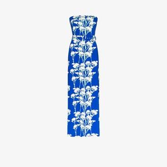BERNADETTE Carrie Daisy Print Sleeveless Maxi Dress