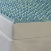 JCPenney Comforpedic from Beautyrest Big Wave 4 Gel Memory Foam Mattress Topper