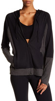 Threads 4 Thought Pisces Contrast Panel Zip-Up Hoodie