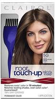 Clairol Nice 'n Easy Root Touch-Up, 5G Medium Golden Brown, Permanent Hair Color, 1 Kit (Pack of 2)