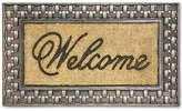 "Bacova Welcome 18"" x 30"" Basketweave Doormat Bedding"