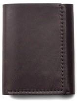 Filson Men's Leather Trifold Leather Wallet - Brown