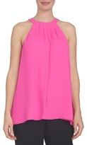 CeCe Women's Crepe Halter Top