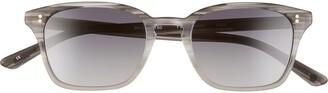 Salt Fuller 50mm Polarized Rectangular Sunglasses