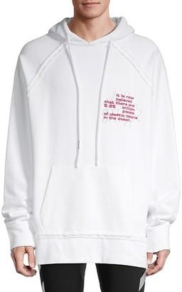 Off-White Hooded Cotton Sweatshirt