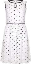 Yumi Womens/Ladies Spots Short Sleeve Tea Dress