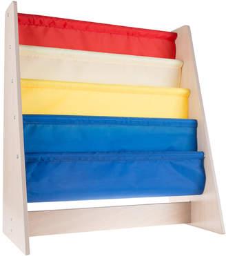 Trademark Hey Play Book Rack Storage Sling Bookshelf
