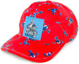 Kenzo The Memento Collection floral print patch cap