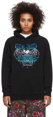 Kenzo Black Limited Edition Holiday Classic Tiger Hoodie