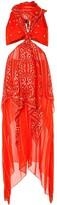 Dion Lee bandana knot dress