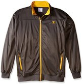 Champion Men's Big-Tall Tricot Track Jacket Chest
