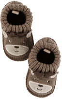 Carter's Reindeer Crocheted Booties