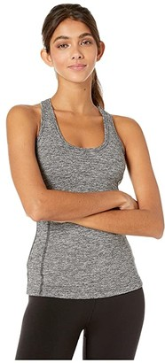 Hard Tail Multi Seam Tank (Heather Gray) Women's Clothing