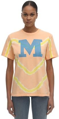 M Missoni Bleached Cotton Jersey T-Shirt