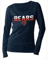 5th & Ocean Women's Chicago Bears Huddle LE Long Sleeve T-Shirt