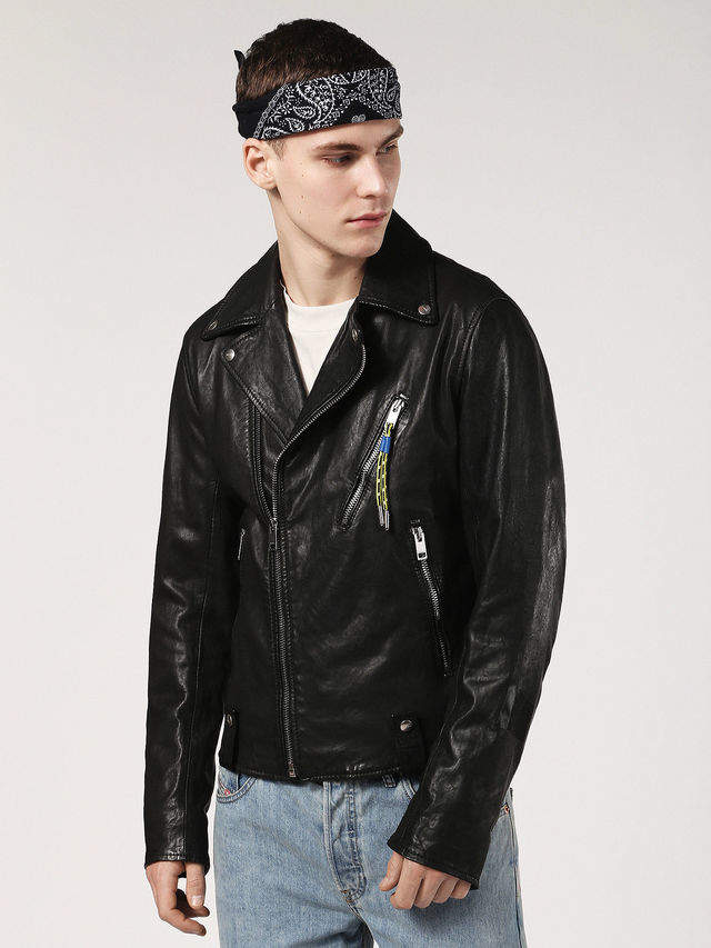 Diesel Leather jackets 0KARP - Black - L