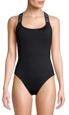 55e5c36fee Kate Spade Treasure Beach One-Piece Criss-Cross Back Swimsuit