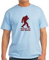 CafePress - Bigfoot (Sasquatch) Ate My Bacon! T-Shirt - 100% Cotton T-Shirt