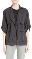 Frame Women's 'Le Oversized' Crop Sleeve Utility Jacket