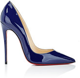 Christian Louboutin Women's So Kate Patent Leather Pumps-TURQUOISE