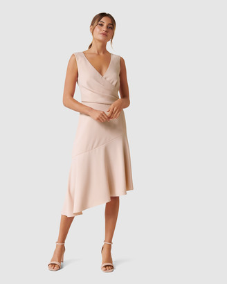 Forever New Cynthia Draped Dress