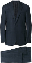 Canali classic Drop 6 check suit - men - Cupro/Wool - 48