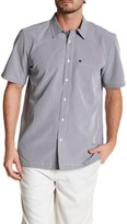 Quiksilver Short Sleeve Regular Fit Pocket Shirt