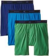 Hanes Men's 3 Pack Ultimate X-Temp Active Cool Long Leg Boxer Brief