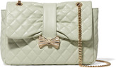 RED Valentino Quilted faux leather shoulder bag