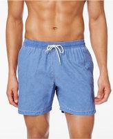 Barbour Men's Victor Slim-Fit Light Blue Swim Trunks