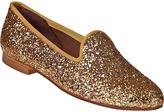 Zalo Gentry Loafer Gold Glitter