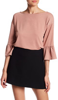 Gibson Boxy Bell Sleeve Blouse