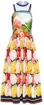 Mary Katrantzou Vularis Rosa Alba-print midi dress