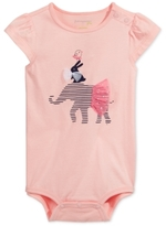 First Impressions Elephant Cotton Bodysuit, Baby Girls (0-24 months)