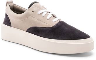 Fear Of God Suede 101 Lace Up in Charcoal & Bone   FWRD