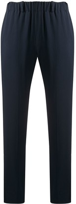 Incotex Slim-Fit Crepe Trousers