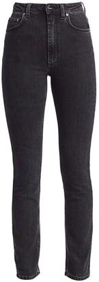 Totême Standard Mid-Rise Straight-Leg Jeans
