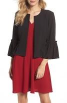 Eliza J Women's Bell Sleeve Crop Jacket