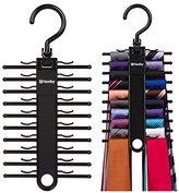2-PACK Tenby Living Black Tie Rack, Organizer, Hanger, Holder - Affordable Ti...