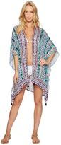 Nanette Lepore Kimono Patchwork Kimono Cover-Up Women's Swimwear