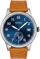 Hugo Boss Men's Legacy Watch with Leather Strap