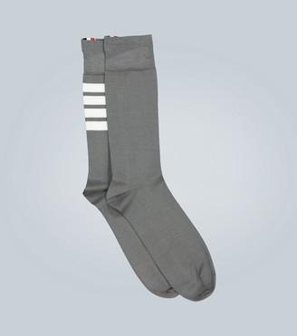 Thom Browne 4-Bar classic socks