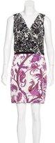Gucci Silk Printed Dress