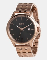 Roxy Womens The Messenger 40mm Stainless Steel Watch