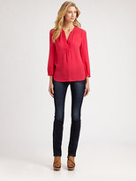Joie Ameline Pleated Top