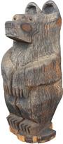 Rejuvenation Rustic Bear Cub Sculpture c1950