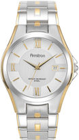JCPenney Armitron Mens Stainless Steel Watch
